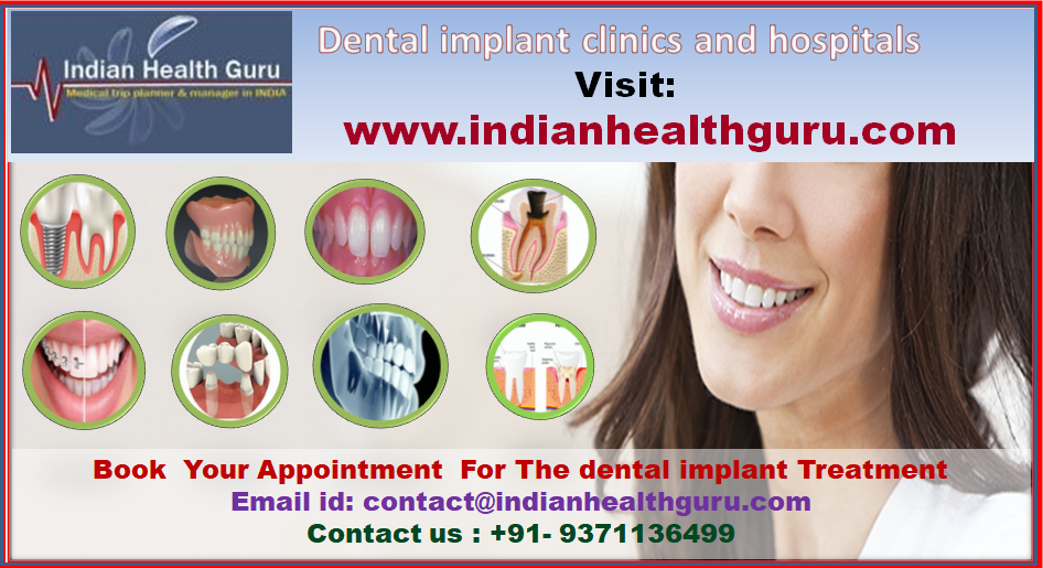Best dental implant clinics and hospitals in India attract global patients far & wide