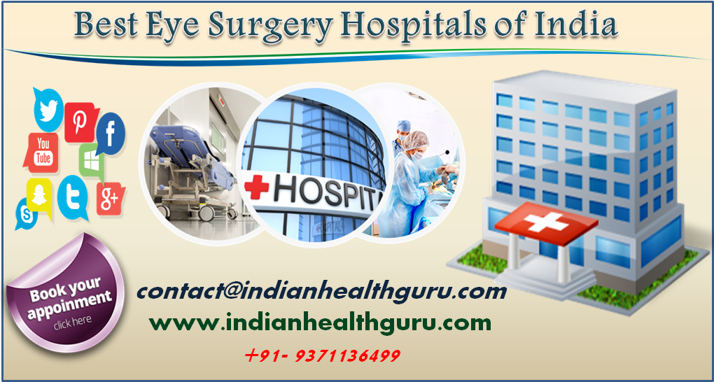 Best Eye Surgery Hospitals of India