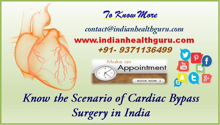 Take a Deep Breath and Know the Scenario of Cardiac Bypass Surgery in India